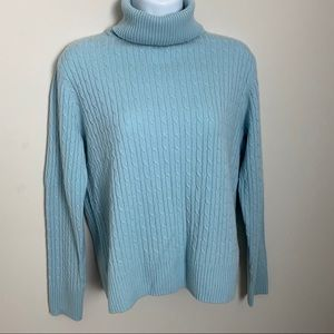 Pendleton 100% Cashmere Turtleneck Sweater